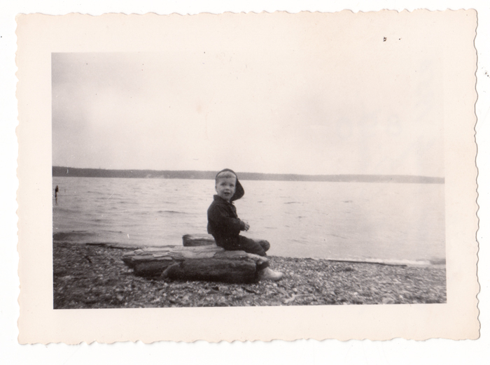 The Author at Smokey Point Puget Sound 1950
